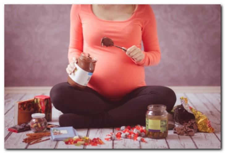 Когда Во Время Беременности Начинается Тяга К Пище?